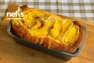 Yumuşacık Şeftalili Kek  Bu Tarife Bayılacaksınız(Videolu) Tarifi