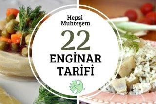 22 Muhteşem Enginar Tarifi