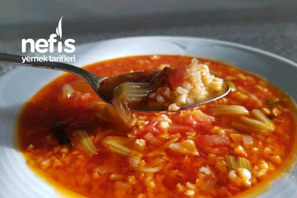 Bulgur Çorbası (Elazığ Yöresel) Tarifi