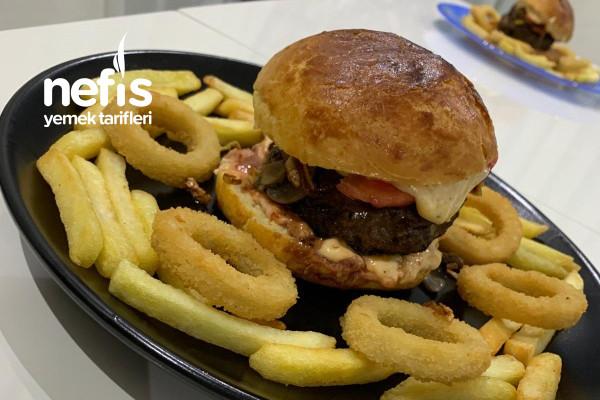 Homemade Burger Tarifi