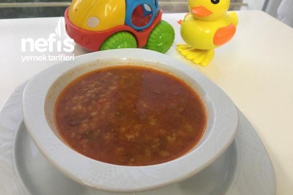 Mercimekli Bulgur Çorbası (Bebekler İçin) Tarifi