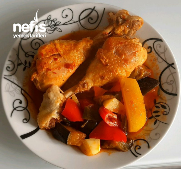 Nefis Kokulu Tavuk Yemeği