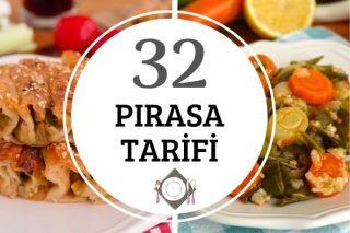 Pırasa Yemekleri – Pırasalı Tarifler Tarifi