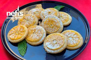 Portakallı Kurabiye Tarifi Gerçek Portakallı (Videolu)