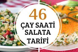 Çay Saatleri İçin Farklı Salata Tarifleri Tarifi