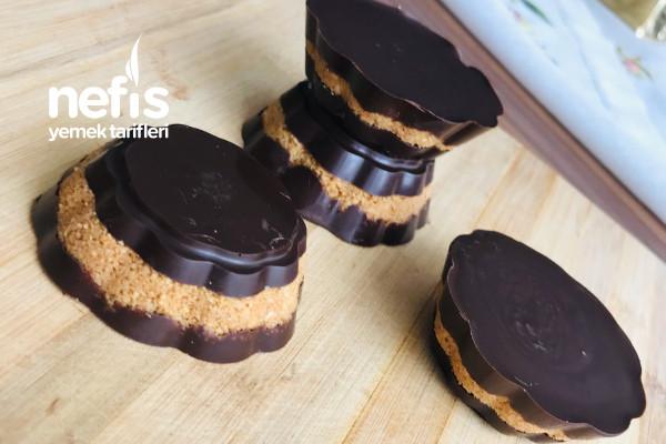 Çikolatalı Fındık Ezmeli Bar Tarifi