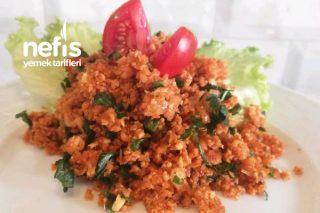 Karnabahar Kısırı (Glutensiz Kısır-Düşük Kalori) Tarifi