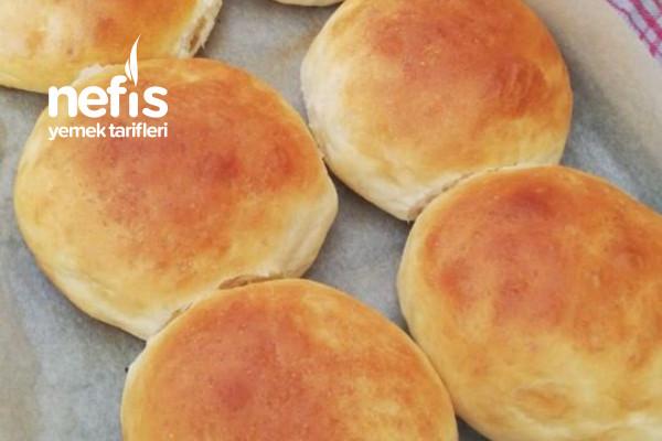 Nefis Yumuşacık Ev Yapımı Hamburger Ekmeği Tarifi