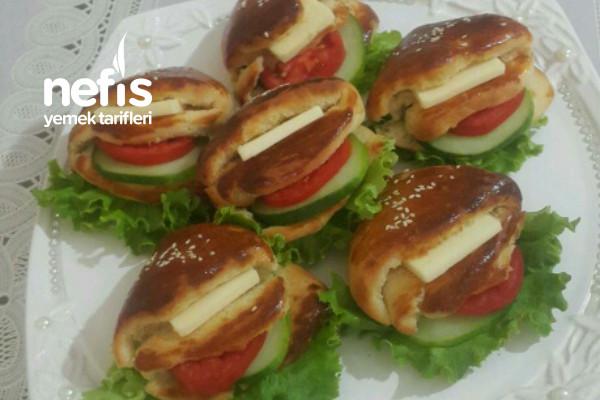 Sandviç Poğaça (Cepli Poğaça) Tarifi