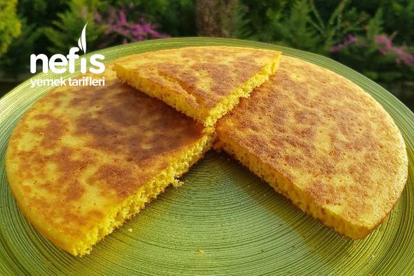 Tavada Pratik Mısır Ekmeği (Videolu) Tarifi