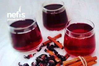 C Vitamini Deposu Hibiskus Şerbeti Tarifi