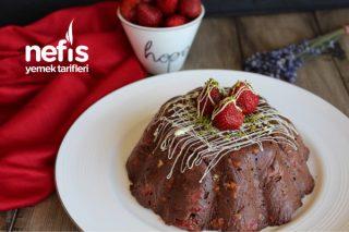 Çikolatalı Çilekli Mozaik Pasta (Videolu) Tarifi