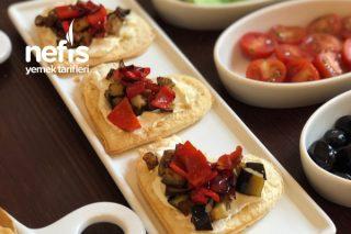 Tost Ekmeğinden Mini Kalpli Kızartmalar Tarifi