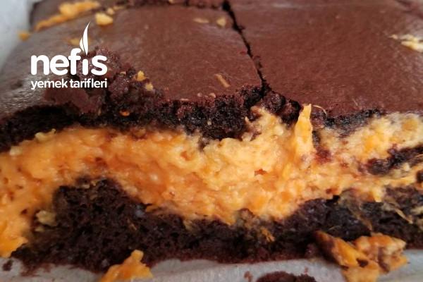 Balkabaklı Cheesecake Browni Tarifi