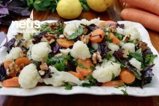 Karnabahar Salatası (Enfes Sosuyla!!!) Tarifi