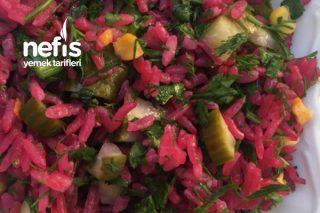 Şagamlı Pirinç Salatası Tarifi