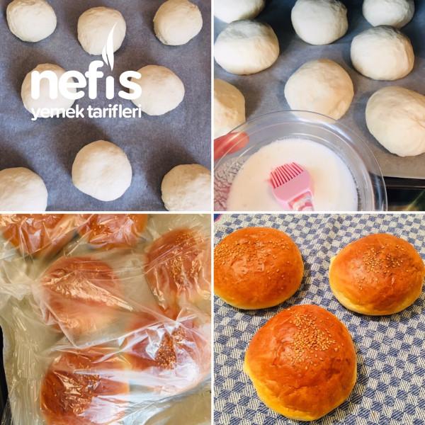 Hamburger (Ekmeği Ve Köftesiyle)