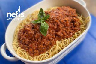Bolonez Soslu Spagetti (Spaghetti Bolognese) Tarifi