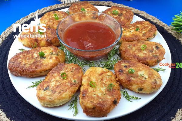 Peynirli Patates Köftesi (Videolu)