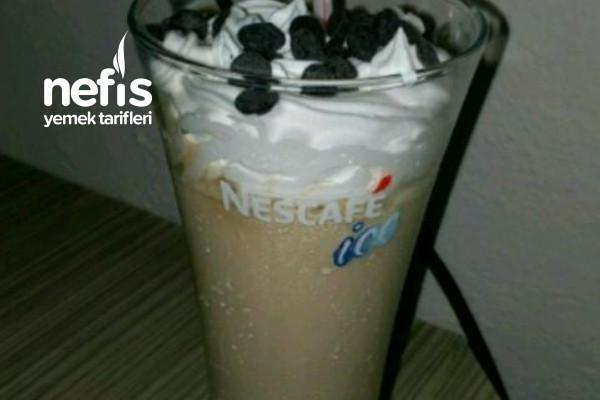 Krem Şantili Soğuk Sütlü Kahve Tarifi