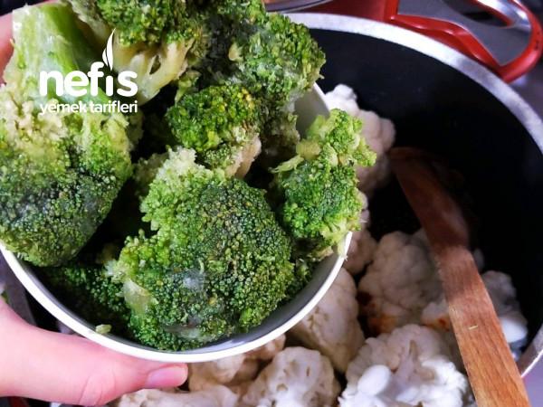 Karnabahar,Brokoli Yemeği