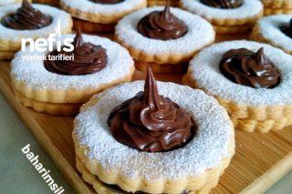 Çikolata Dolgulu Kurabiye Tadına Bayılacaksınız Tarifi