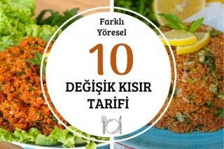10 Farklı Kısır Tarifi