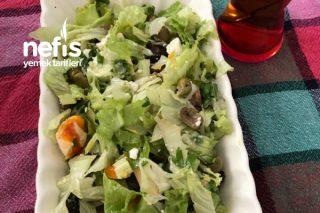 Öğün Yerine Geçen Kahvaltı Salata (Diyet) Tarifi