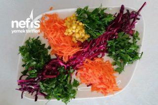 Rengarenk Kış Salatası (Videolu) Tarifi