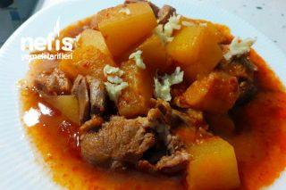 Diyarbakırın En Güzel Yemeklerinden Kabak Meftune Tarifi