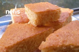 Fırın Tepsisinde Portakallı Zerdeçallı Kek Tarifi