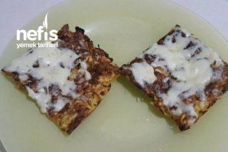 Glutensiz Enfes Kabak Pizza Tarifi