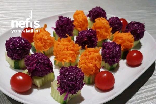 Şık Sunumlu Salata