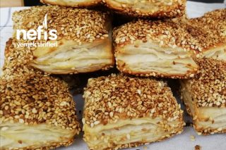 Simit Tadında Milföy Börek (Videolu) Tarifi