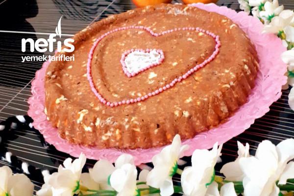 Tart Kalıbında Pratik Mozaik Pasta Tarifi