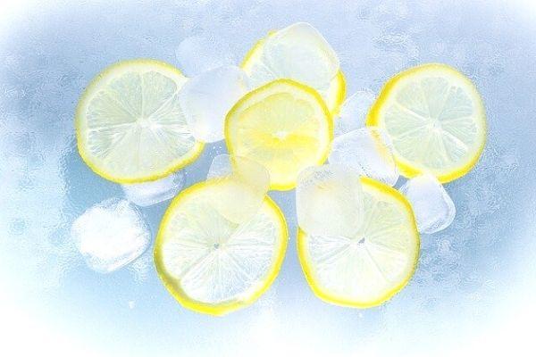 limonlu buz maskesi