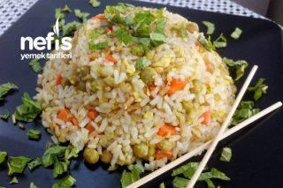 Kızarmış Pilav (Fried Rice) Tarifi
