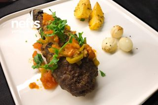 Mantolu Patlıcan Kebabı Tarifi