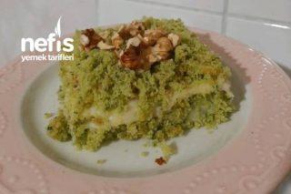 Ispanaklı Pasta (Gorenler Fıstık Zannedecek) Tarifi