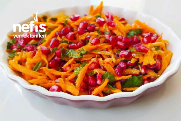 Narlı Havuç Salatası Tarifi