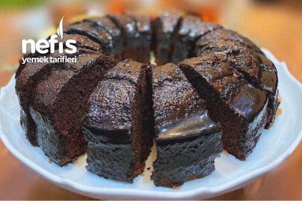 Kek Kalıbında Islak Kek (Bol Soslu) Tarifi