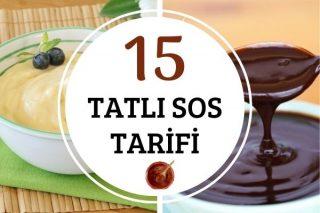 Kesin Sonuç Veren 15 Tatlı-Pasta Sosu Tarifi