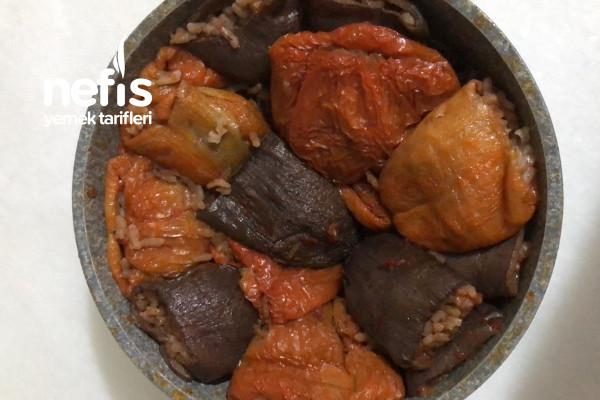 Kuru Dolma (Patlıcan Biber) Tarifi