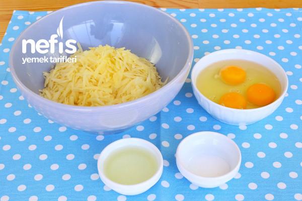 Patatesli Omlet (Çok Pratik)