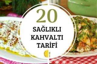 20 Sağlıklı Kahvaltı Tarifi