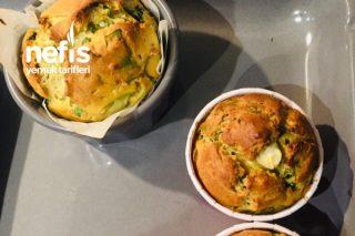Diyet Ispanaklı Muffin Tarifi