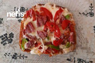 Ekmekli Pizza Tarifi
