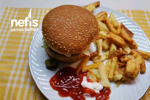 Ev Yapımı Hamburger Burger King Tarifi