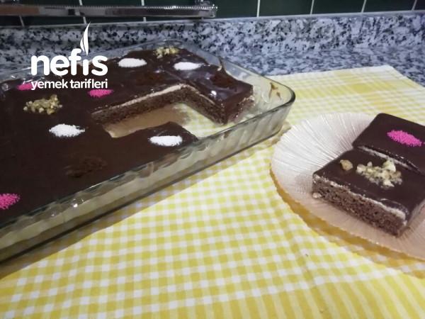 Kahveli Borcam Pastası Videolu