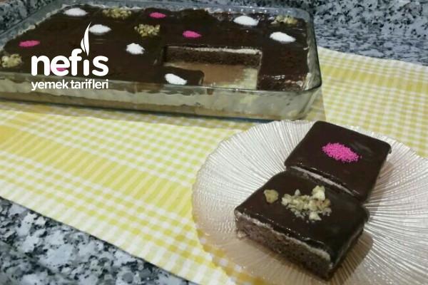Kahveli Borcam Pastası Videolu Tarifi
